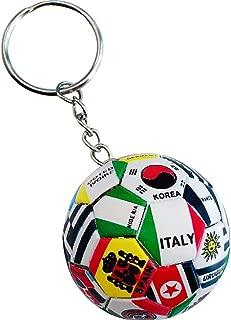 hefeilzmy Sports Ball Key Chain Football Match World Cup Team Keychains