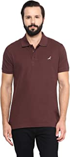 AMERICAN CREW Half Sleeve 100% Combed Cotton Polo T Shirts for Men with Collar Vibrant Colors
