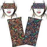 Almohada para los ojos 'Pack-2 Param' | Semillas de Lavanda y arroz | Yoga, Meditación,...