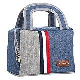 ランチバッグ 保冷 保温 お弁当袋 容量5L トートバッグ 撥水 オックスフォード お弁当バッグ 手提げバッグ
