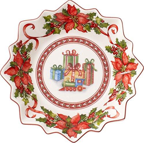 Villeroy & Boch Toy's Fantasy Bol en porcelaine 17x17x0.1 cm blanc/rouge
