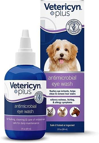 Vetericyn All Animal Eye Wash Liquid, 4-Ounce Drops