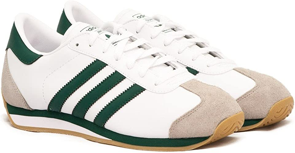 adidas Country II White/Green : Amazon.fr: Chaussures et Sacs