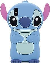 iPhone X Case, MC Fashion Cute 3D Cartoon Stitch Case for Teen Girls Boys Women, Shockproof Soft Silicone Phone Case for Apple iPhone X and iPhone Xs (2018) 5.8-Inch