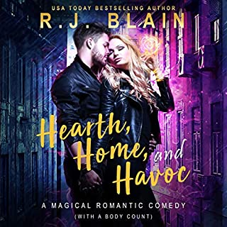Hearth, Home, and Havoc: A Magical Romantic Comedy (With a Body Count)                   Autor:                                                                                                                                 RJ Blain                               Sprecher:                                                                                                                                 Courtney Holly                      Spieldauer: 2 Std. und 4 Min.     Noch nicht bewertet     Gesamt 0,0