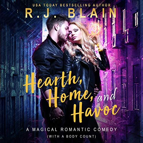 Hearth, Home, and Havoc: A Magical Romantic Comedy (With a Body Count)                   By:                                                                                                                                 RJ Blain                               Narrated by:                                                                                                                                 Courtney Holly                      Length: 2 hrs and 4 mins     36 ratings     Overall 4.7