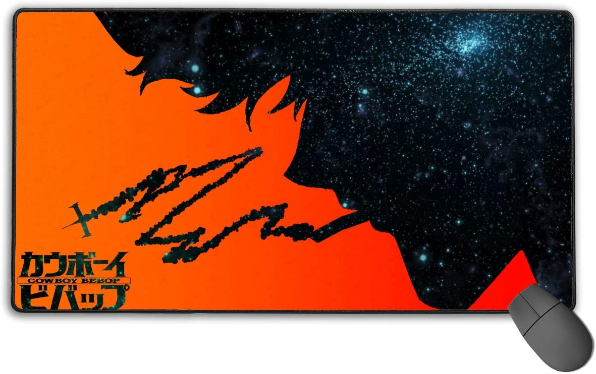 JAPYZEY Cowboy Large Bebop Mouse Pad Extended Desk XXL M National uniform free shipping Colorado Springs Mall Mat