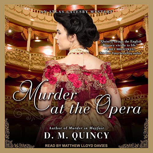 Murder at the Opera audiobook cover art