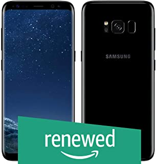 (Renewed) Samsung Galaxy S8 Plus G955FD (Midnight Black)