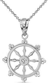 wheel buddhism symbol
