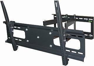 "Black Full-Motion Tilt/Swivel Wall Mount Bracket for iiyama Prolite TH6567MIS-B1AG 65"" inch LCD Digital Signage - Articulating/Tilting/Swiveling"
