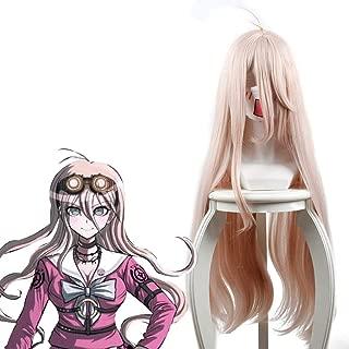 Yamia Anime Cosplay Wig for Miu Iruma, Long Pink Women Girls' Party Wigs with Free Cap