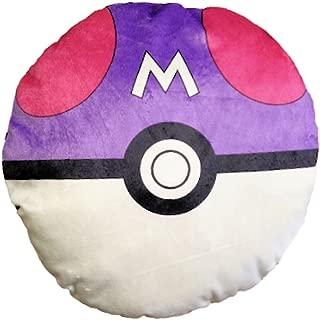 Pokemon Purple Master Pokeball 13 inch Plush Throw Pillow