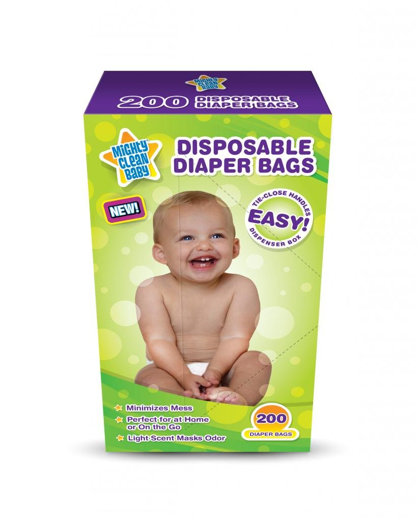 Mighty Clean Disposable Diaper count