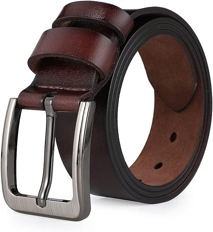 204 opinioni per VRLEGEND Cintura Uomo Pelle 110-175 cm Regolare & Grandi e Alti,38mm Cinture