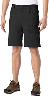 Gopune Men's Lightweight Quick Dry Hiking Shorts Workout Running Gym Cargo Shorts