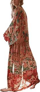 Best floral velvet kimono Reviews