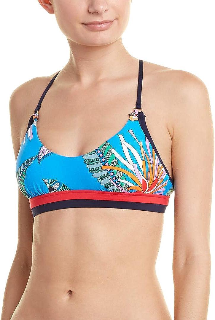 Trina Turk Women's Banded Bralette Bikini Swimsuit Top