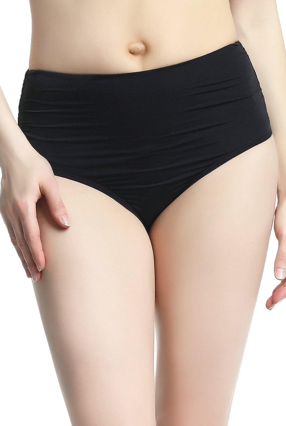 phistic Women's UPF 50+ Full Coverage Swim Brief Bottoms (Regular & Plus Size)