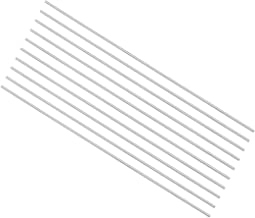 uxcell Round Steel Rod, 1mm HSS Lathe Bar Stock Tool 100mm Long, for Shaft Gear Drill..