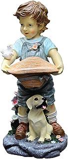 التماثيل الخارجية حديقة فناء الديكور زخرفة الشخصية الكرتونية النحت الراتنج النحت البستنة في الهواء الطلق رياض الأطفال الحر...