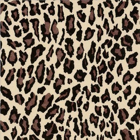 20 x Leopard Print Paper Napkins.