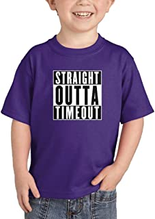 HAASE UNLIMITED Straight Outta Timeout - Trouble Maker Infant/Toddler Cotton Jersey T-Shirt