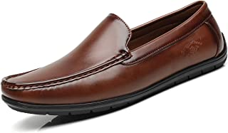 Men's Loafers Driving Boat Shoes Slip-on Moccasins...