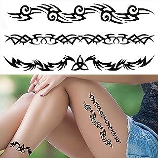 Tijdelijke Tatoeages 3 Vellen 3D Lelie Bloem Tijdelijke Tatoeages Voor Vrouwen Volwassenen Rose Lotus Anemoon Tattoo Stick...