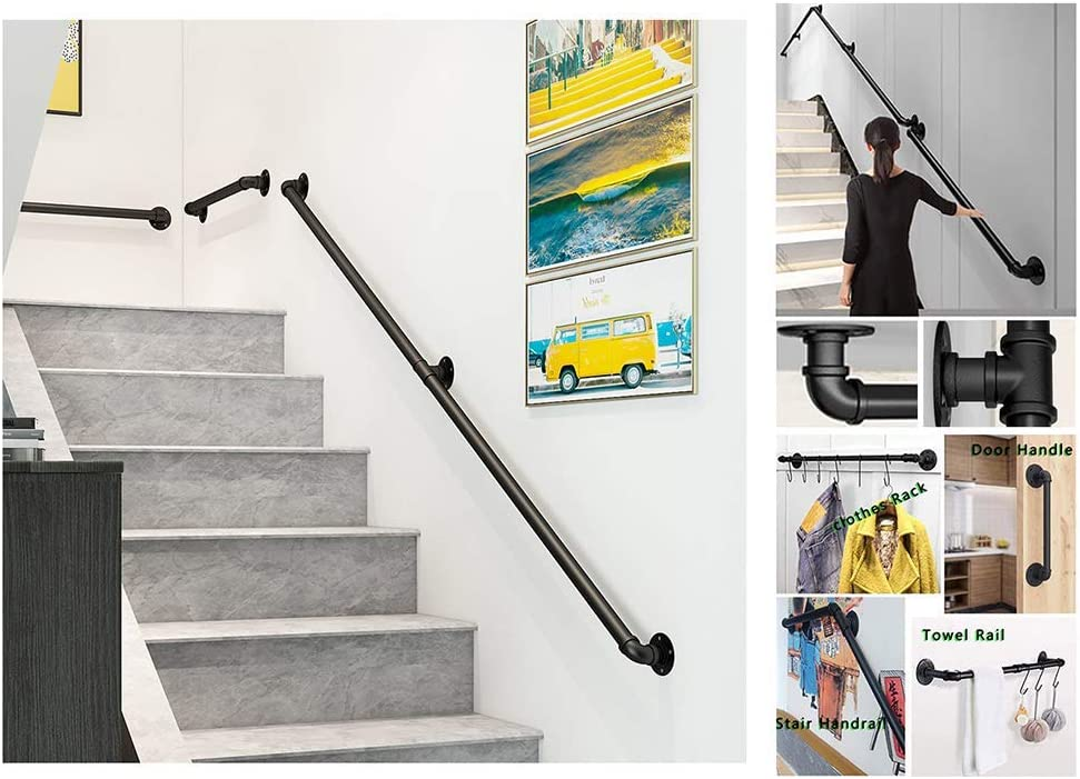 Popularity KFDQ Stair Handrail Brackets New mail order Loft Industr Multipurpose