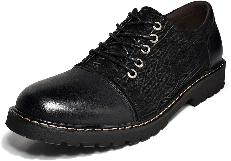 EGS-schuhe Leder Top Layer Leder Brooke Schuhe Schuhe gekleidet Spitzen Herren Lederschuhe,Grille Schuhe (Farbe   Schwarz, Größe   44)  schnelle Antworten