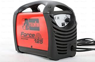 Telwin – Estación de soldadura inverter MMA con accesorios y maletín cartón – Force 125