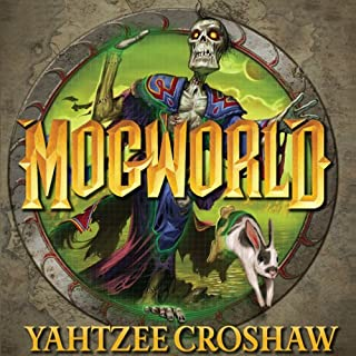 Mogworld audiobook cover art