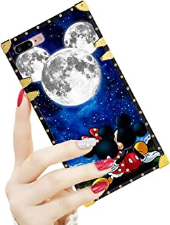 DISNEY COLLECTION Luxury Square Case for iPhone 7/8 Plus 5.5