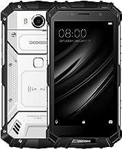 Rugged Smartphone Unlocked,DOOGEE S60 Outdoor Phones - Android 7.0-5.2'' FHD Screen - IP68 Waterproof Dustproof Shockproof - Helio P25 Octa-core - 5580mAh - 6GB RAM + 64GB ROM - 8MP+21MP (Silver)