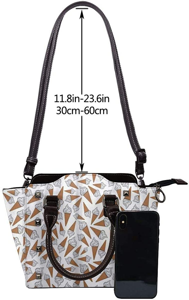 BROWCIN Tropical River Jungle Boat Fish and Lizard Détachable La mode Tendance Madame Sac à main Sac à bandoulière Cor13