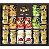 【お歳暮】 ザ・プレミアム・モルツ 冬の限定ファミリー ビール ギフト セット FA30P  350ml×4本, 500ml×4本, 290ml×6本  ギフトBox入り