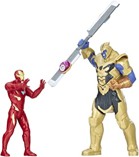 Marvel Avengers- Iron Man Vs. Thanos Set de Combate (Hasbro E0559105)