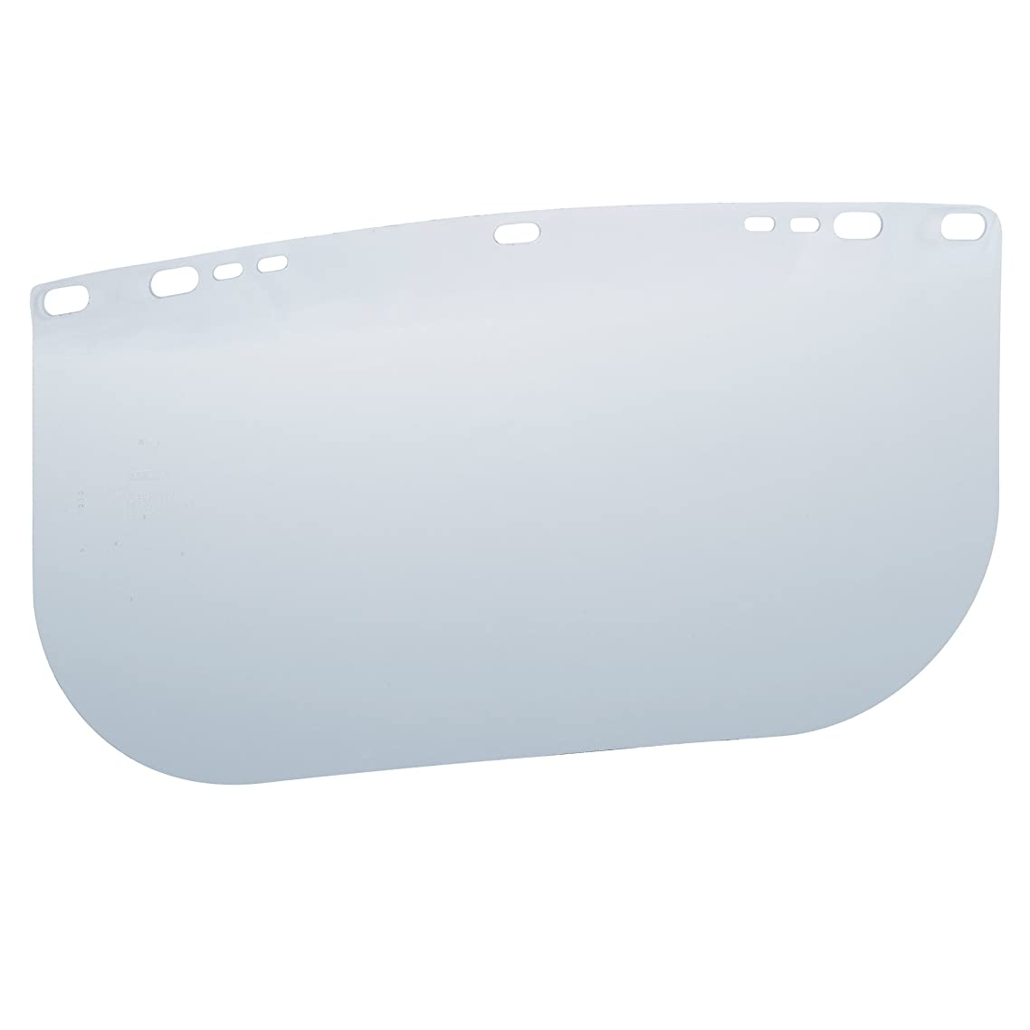 """Jackson Safety F20 High Impact Face Shield (29099), Polycarbonate, 8"""" x 15.5"""" x 0.04"""", Clear, Face Protection, Unbound, 36 Shields / Case"""
