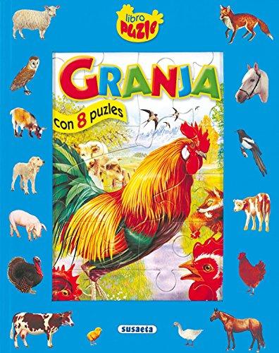 Granja Con 8 Puzles (Libro Puzle)