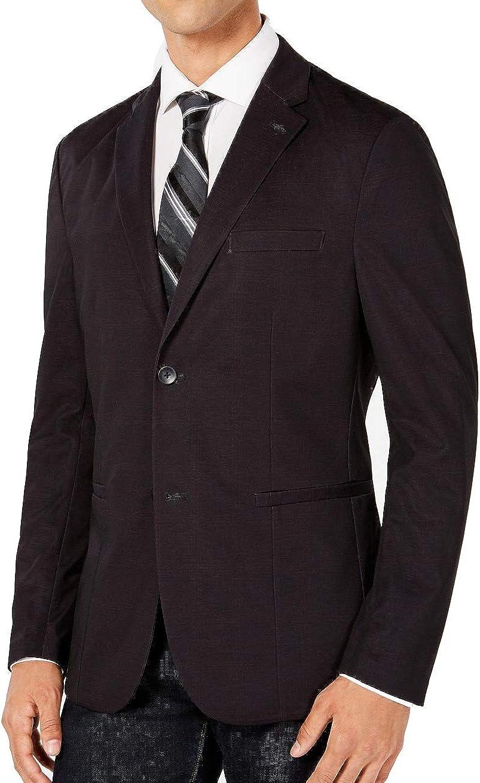 Ryan Seacrest Mens Plaid Performance Sport Coat