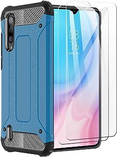 XIFAN Funda para Xiaomi Mi 9 Lite, protección contra Golpes de TPU + PC Resistente a arañazos (Doble Capa) Carcasa para Xi...