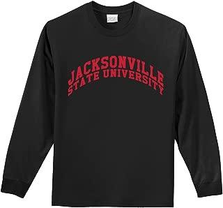 NCAA Jacksonville State Gamecocks Long Sleeve Tee, Large/Tall, Black