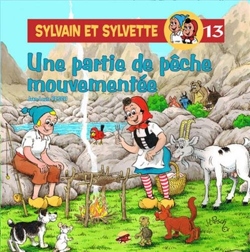 Sylvain et Sylvette, Tome 13 : Une partie de pêche mouvementée