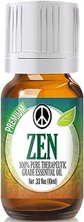 Zen Essential Oil Blend - 100% Pure Therapeutic Grade Zen Blend Oil - 10ml