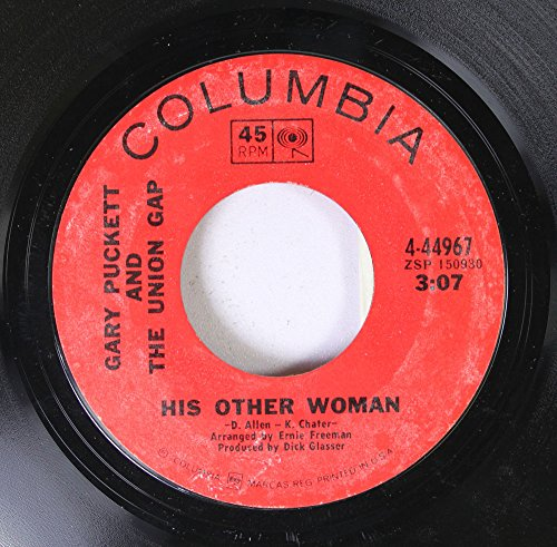 Gary Pucket and The Union Gap 45 RPM His Other Woman / This Girl Is A Woman Now