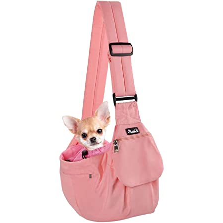 Small Dog Sling Carrier with pocketpet faux Fur carrierDog Tot