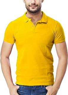 TUT Men Polo T-Shirt Cotton Pique Short Sleeve (Slim Fit)