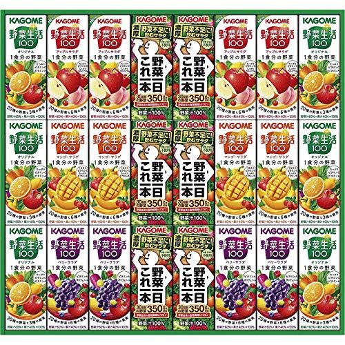 カゴメ 野菜飲料バラエティギフト KYJ-30R【飲み物 つめあわせ 詰め合わせ 紙パックジュース 野菜ジュース やさいジュース KAGOME おいしい 美味しい うまい】