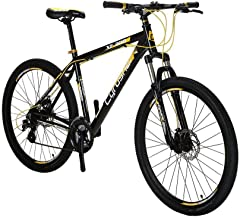 Extrbici Mountain Bike 24 Speeds MTB,19 inch Bicycle XF300 MTB Aluminium Alloy Frame with Shimano EF-500 Shift Dual Disc Brake 90% Pre-Assembled(US Stock)
